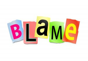 blame word in type